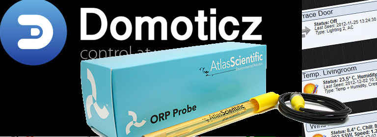 Read a Atlas Scientific ORP probe with a Raspberry Pi and Domoticz